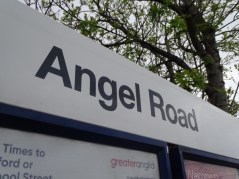 Angel Road railway station