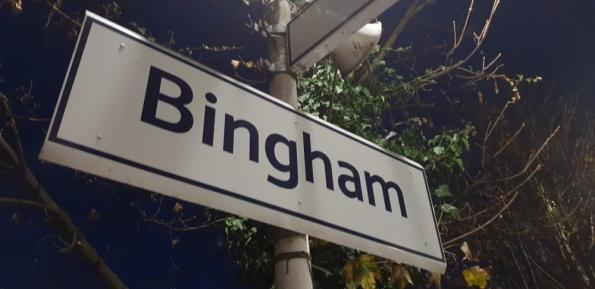 Bingham railway statio