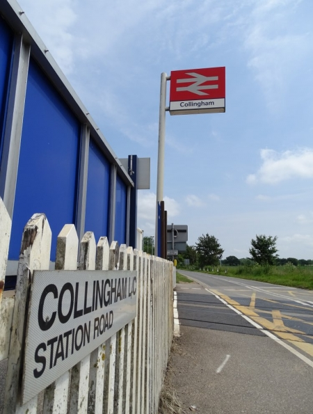 Collingham railway station
