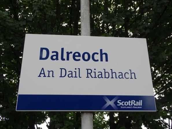 Dalreoch railway station
