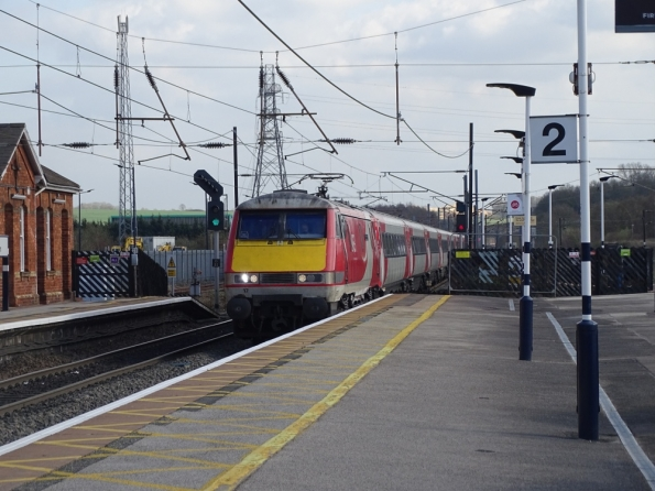InterCity 225 at Grantham railway station