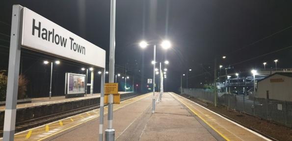 Harlow Town railway station
