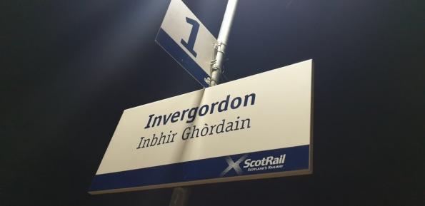Invergordon railway station