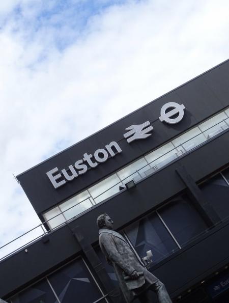 London Euston railway station