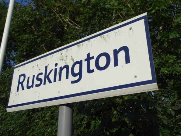 Ruskington railway station