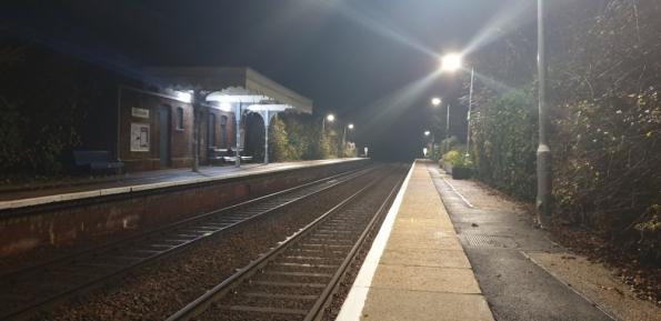 Salhouse railway station