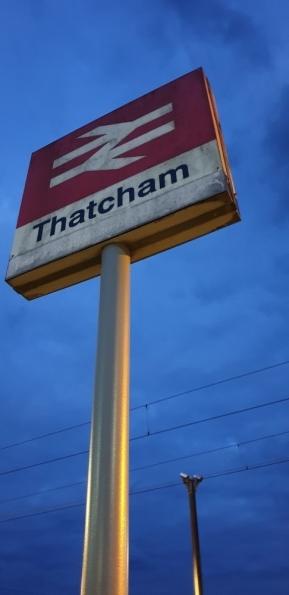 Thatcham railway station
