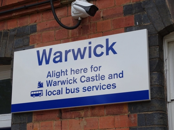 Warwick railway station