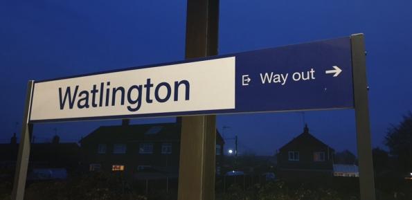 Watlington railway station