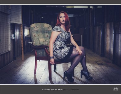 Silvia 09 - Camden fashion shoot