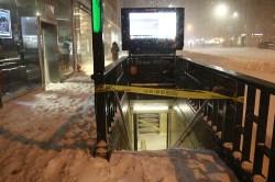 closed subway