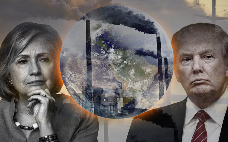 Presidential Candidates and Global Warming for Yahoo News