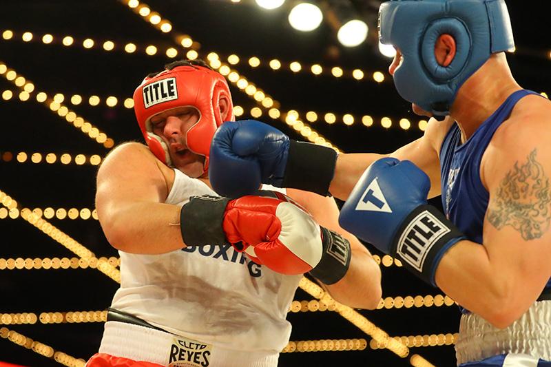 NYPD Boxing Championships at Madison Square Garden - Gordon Donovan