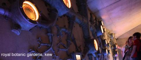 Finished and installed Rhizotron exhibit 02 - RGB KEW.