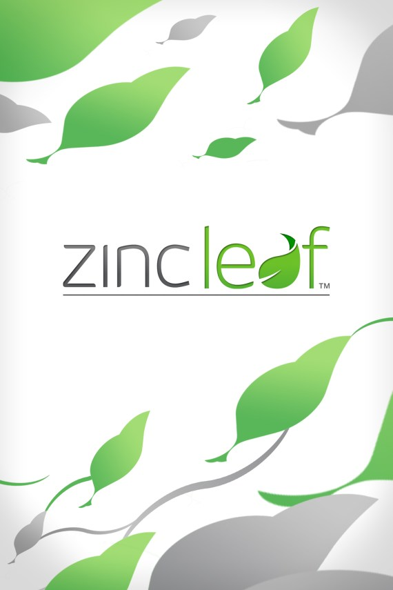 Zincleaf App Splashscreen - Overlay Media.