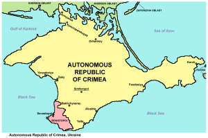 photo Crimea_republic_map