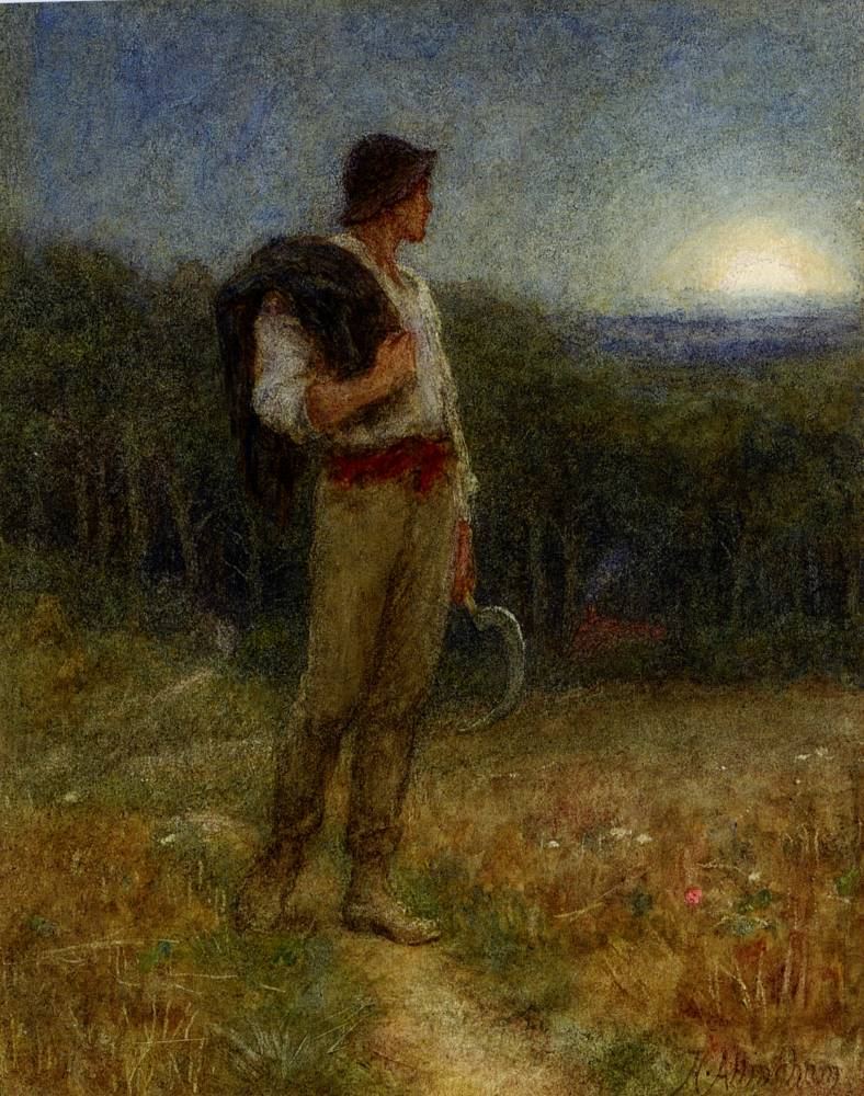 Harvest Moon Helen Allingham