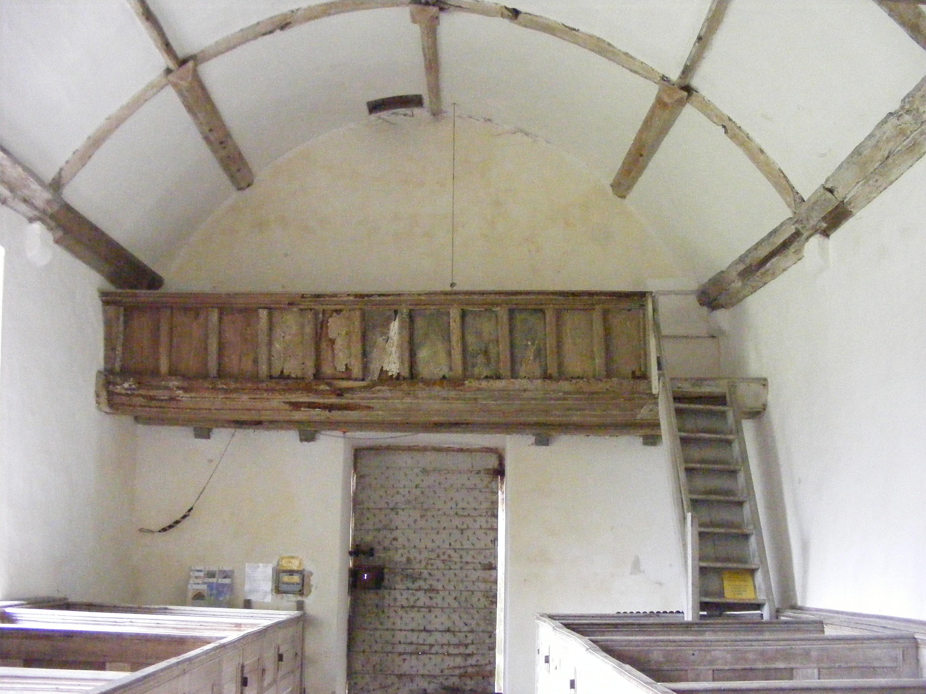Winterborne Tomson, St Andrew, west gallery