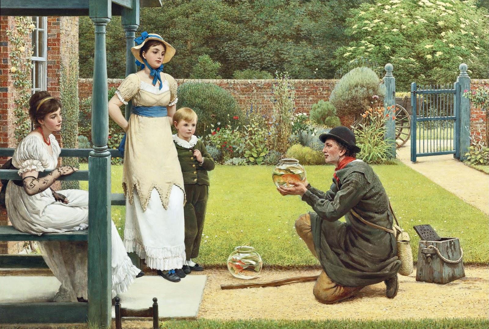 6 George Dunlop Leslie - The Goldfish Seller