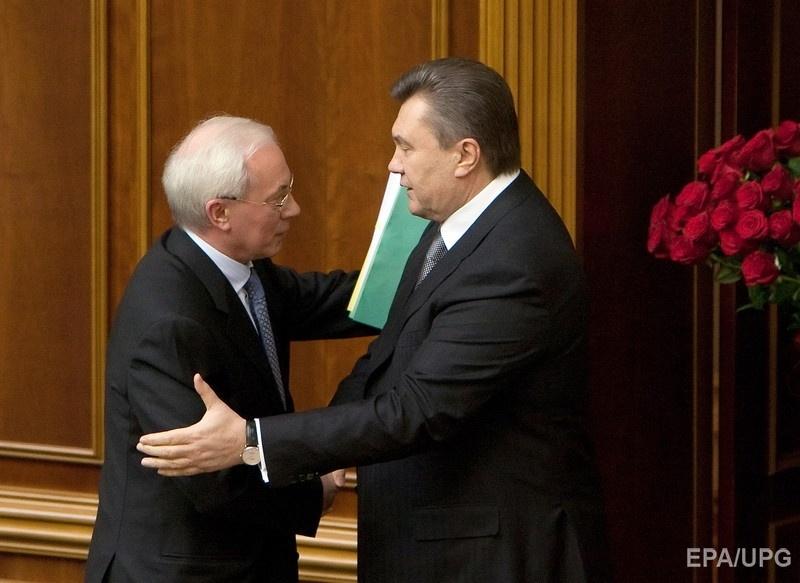 Николай Азаров и Виктор Янукович, март 2010 года. Фото: EPA