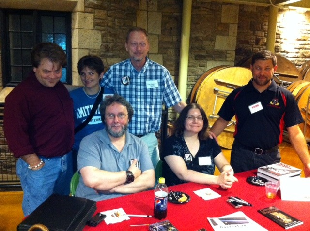 Horror Writers at the SHU Book Signing in 2011