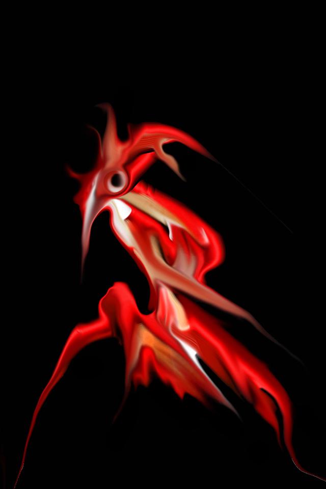 Image from the 'Demons of the Dark' digital art series.