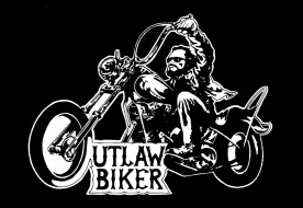 Outlaw Biker magazine logo