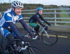 Gorey Cycling Club First Official Club Spin - Nov 9th 2014