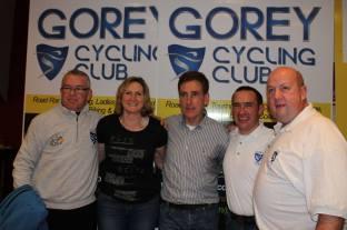 Gorey Cycling Club Launch, 28-11-2014