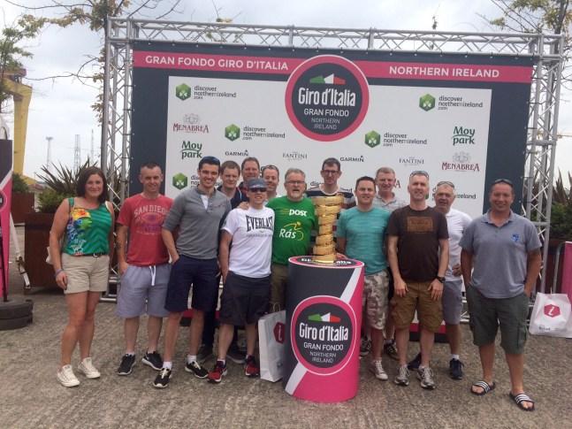 Gran Fondo Giro d'Italia 2016 registration day