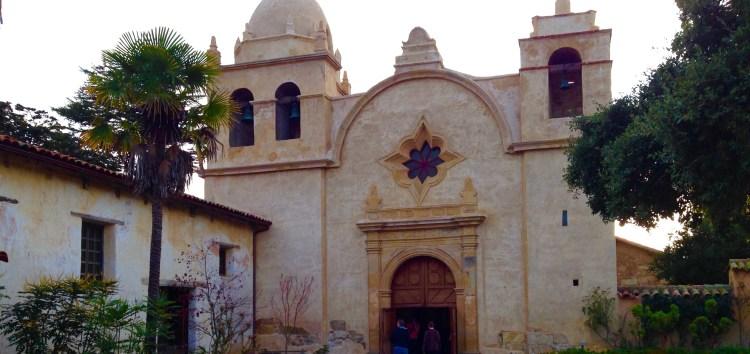 Mission San Carlos Barromeo De Carmelo a well preserved piece of California history.