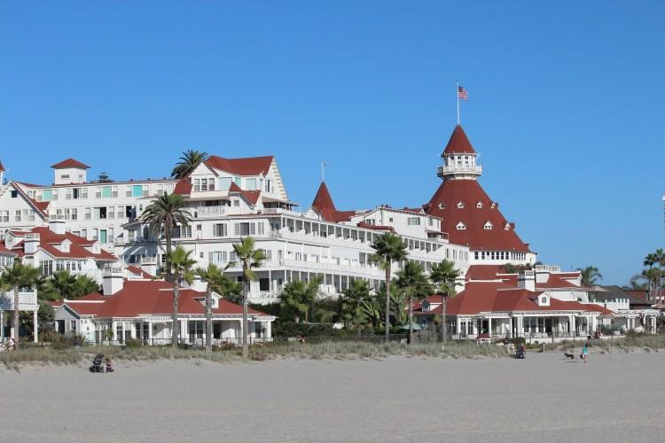 California Highway 1 Hotel Del Coronado