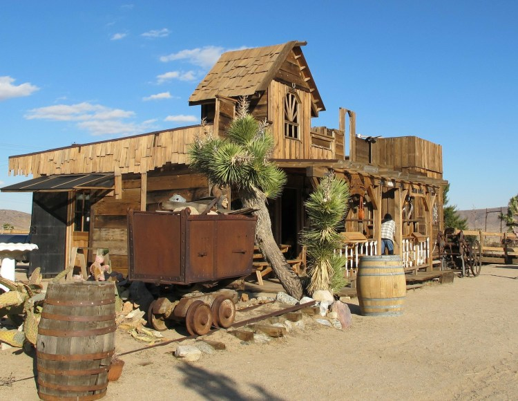 California Ghost Town Pioneertown was created as a closer alternative to western film sites.