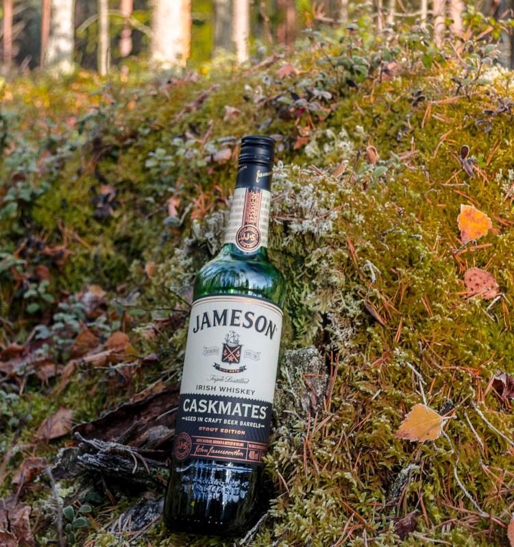 Jameson or Tullamore Dew taste great in an Irish coffee.
