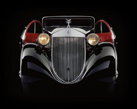 Rolls-Royce-Phantom-1-Jonckheere-Coupe-Round-Doors-Open