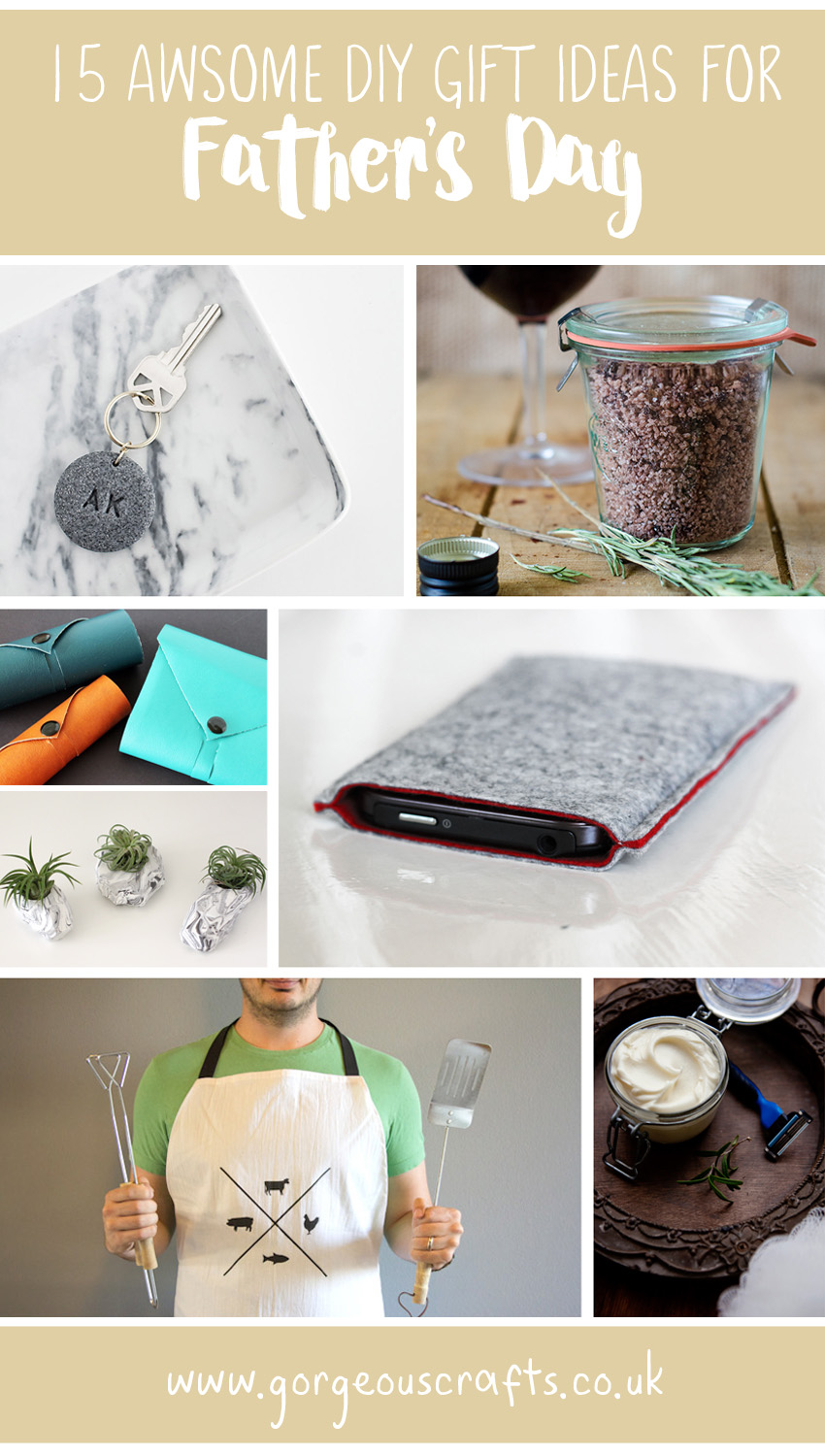 15 Awesome DIY Father\'s Day Gift Ideas - Gorgeous Crafts