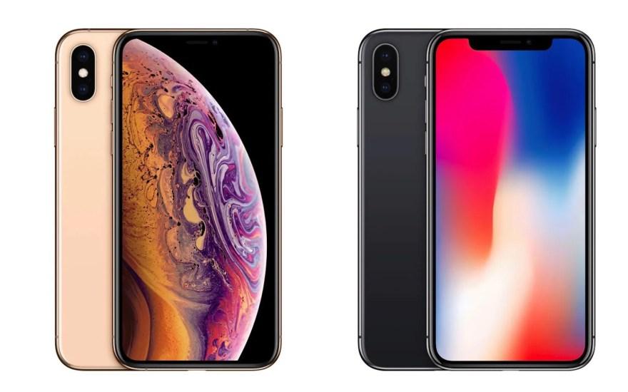 Iphonexs iphonex comparison