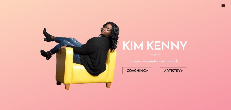Kim Kenny Sings