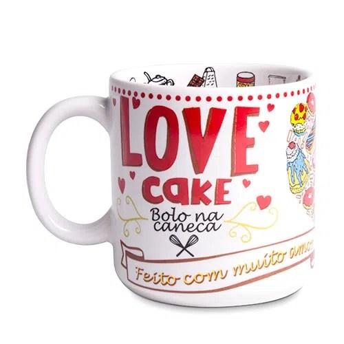 Resultado de imagem para Caneca Love Cake no gorila club