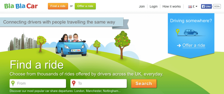 BlaBlaCar Poland Carpooling Service in Europe, Cheap way to travel across Europe, How to use BlaBlaCar in Europe