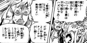 ワンピース925話黒ひげ