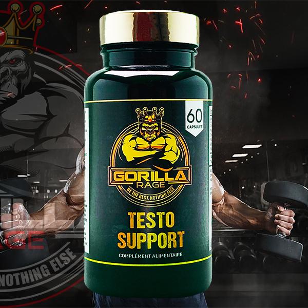 testostérone pour la musculation et le fitness