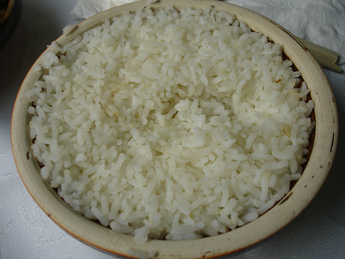 Nonsensical Study About White Rice