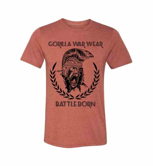 THE INVICTA T SHIRT - SCORCHED HEATHER