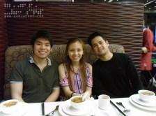 Roi, Jae, and Miggy