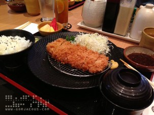 Menchi at Yabu: The House of Katsu, SM Mall of Asia