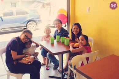 With my newlywed college friends, Edong and Sweet, and the kids from my Typhoon Haiyan post