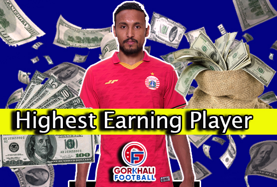 Rohit Chand the highest-earning footballer in Nepal