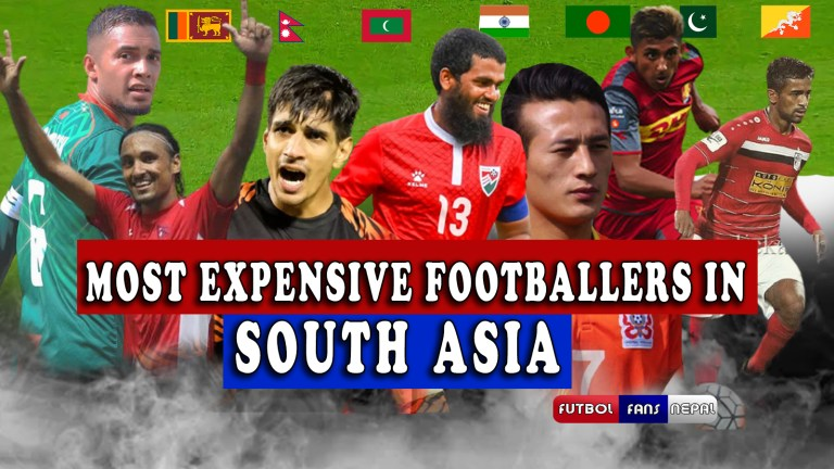 Most Valuable (expensive) Footballers in South Asia