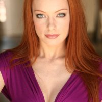 Hot Actress #285- ELIZABETH J.CARLISLE: RAVISHING REDHEAD